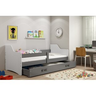 Sheridan European Toddler Bed With Drawer By Harriet Bee