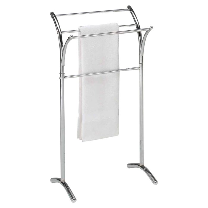 Inroom Designs Free Standing Towel Stand Reviews Wayfair