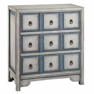 Thirsk 3 Drawer Chest by Highland Dunes