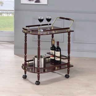 Reding 2-Tier Bar Carts by Charlton Home