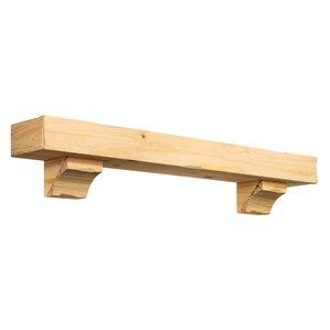 shenandoah fireplace mantel shelf - Wood Mantels