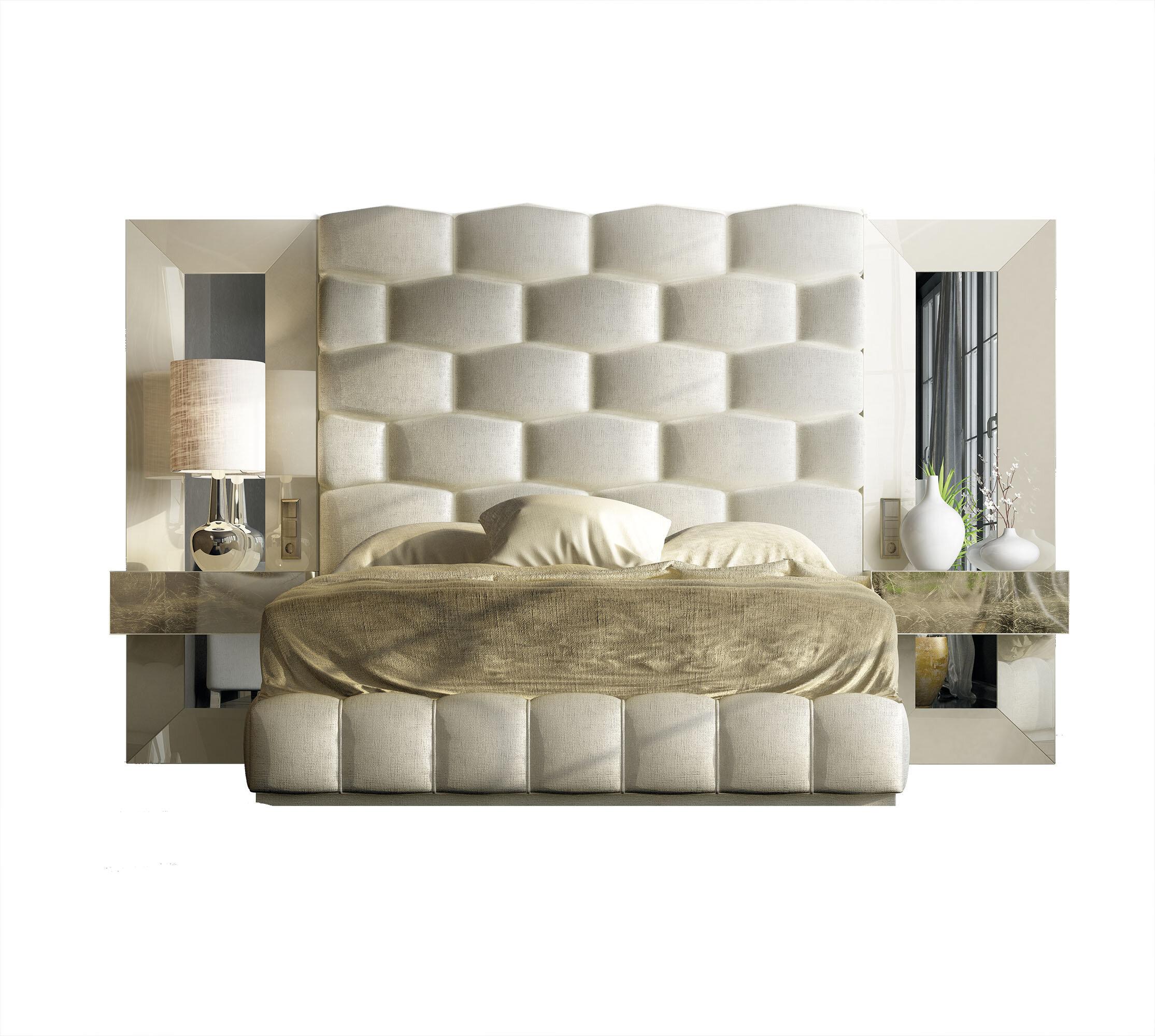 Hispania Home London Bedor34 Bedroom Set 5 Pieces Wayfair