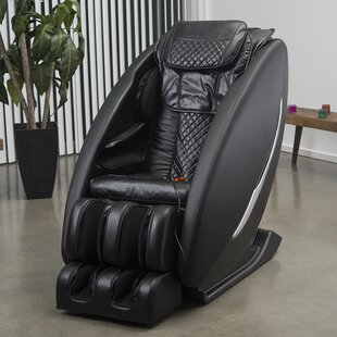 Leather Massage Chair by Latitude Run