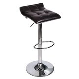 Dopson Adjustable Height Swivel Bar Stool (Set of 2) by Orren Ellis