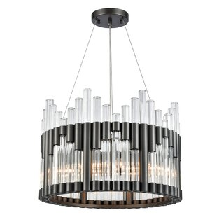Everly Quinn Squires 6-Light Drum Chandelier