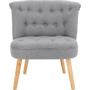Leudelange Slipper Chair by Bungalow Rose