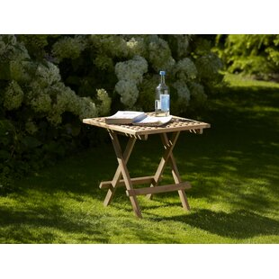 Rollins Folding Teak Bistro Table By Sol 72 Outdoor