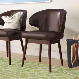 Check Prices Rouse Leather Reception Guest Chair by Wrought Studio Reviews (2019) & Buyer's Guide