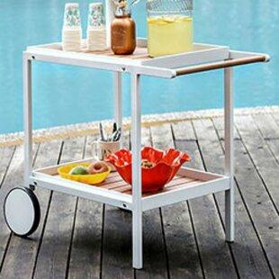 Ranson Serving Bar Cart by Latitude Run