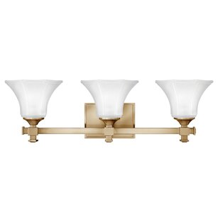 Read Reviews Marchienne 3-Light Vanity Light By House of Hampton