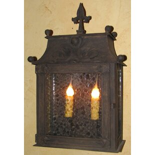 Gravely 2-Light Outdoor Wall Lantern by F..