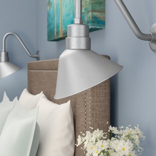 Wall Sconce Shades Youll Love Wayfair - Bathroom wall sconce with shade