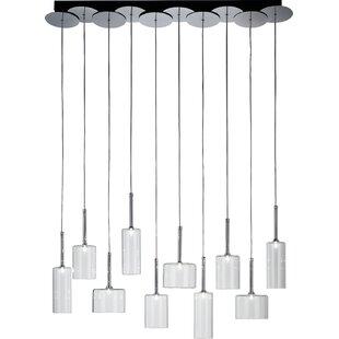 Ponca 10-Light Pendant by Brayden Studio
