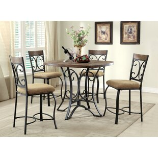 Guild Counter Height Dining Table Fleur De Lis Living
