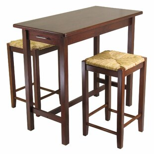 Winsome 3 Piece Counter Height Dining Set Winsome