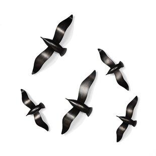 Modern Contemporary Birds Wall Decor