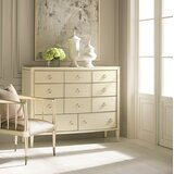 Birdseye Maple 11 Drawer Dresser by Caracole Classic