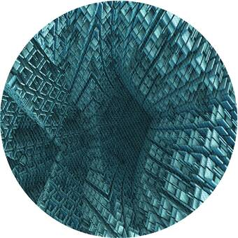 Latitude Run Matsumura Geometric Blue Gray Area Rug Reviews Wayfair