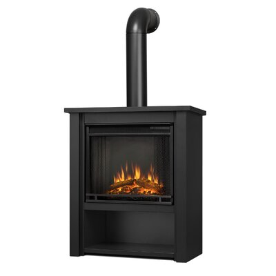 Hollis Gel Fuel Fireplace Real Flame Finish: Black