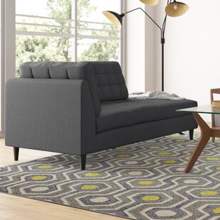 Langley Street Warren Upholstered Right Arm Chaise Lounge