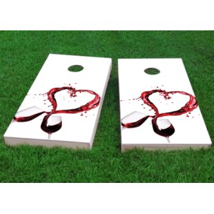 Custom Cornhole Boards Wine Lover Cornhole Game (Set of 2)