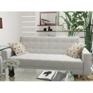 Low priced Rosina Convertible Loveseat by Zipcode Design Reviews (2019) & Buyer's Guide