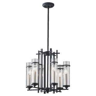 Trent Austin Design Yucca Valley 6-Light Shaded Chandelier