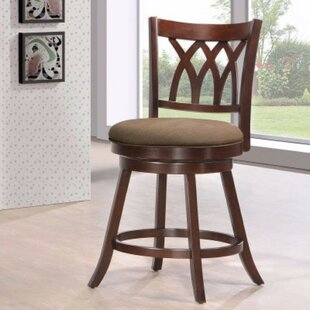 Winston Porter Forontenac Swivel Bar Stool