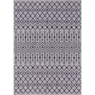 Jaylah Light Gray Indoor/Outdoor Area Rug