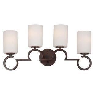 Mcnichols 4-Light Vanity Light by Ebern Designs