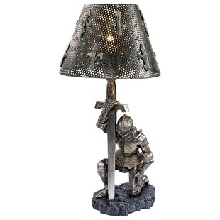 Big Save At Battle's End Sculptural 22 Table Lamp By Design Toscano