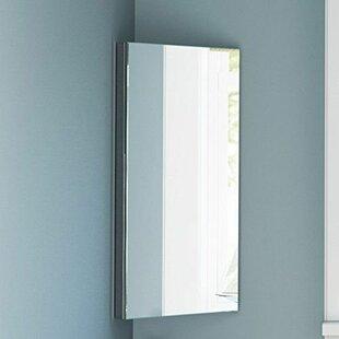 Ranae 30cm X 60cm Corner Mount Mirror Cabinet By Metro Lane
