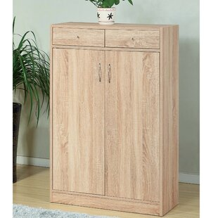 Tropeano Adorning 2 Door Shoe Accent Cabinet by Red Barrel Studio