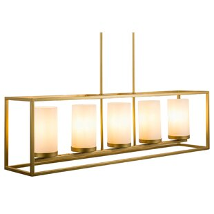 Bergenia 5-Light Square/Rectangle Chandelier