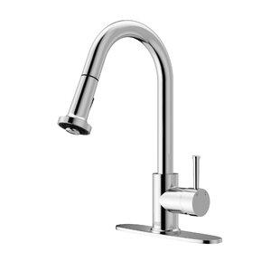 VIGO Harrison Pull Out Single Handle Kitchen Faucet