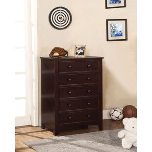 Comparison Clack 5 Drawer Chest by Harriet Bee Reviews (2019) & Buyer's Guide