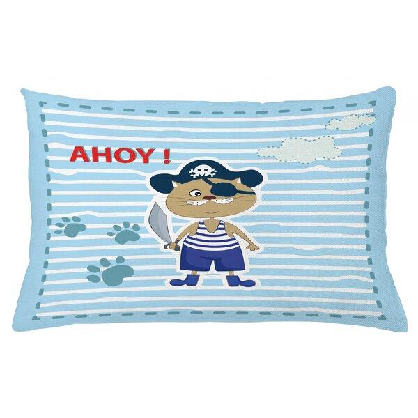 East Urban Home Ahoy Its A Boy Indoor Outdoor Lumbar Pillow Cover