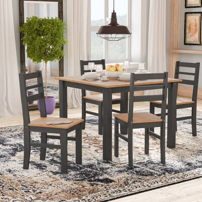 Robin Solid Wood 5 Piece Dining Set