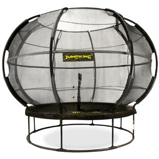 14' Trampoline With Safety Enclosure By Freeport Park