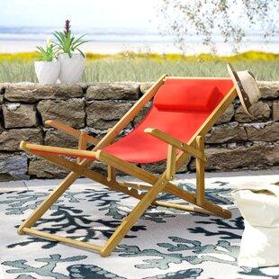 Rosecliff Heights Hooksett Reclining Beach Chair