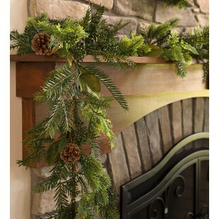 6' Holiday Mixed Faux Greenery Garland