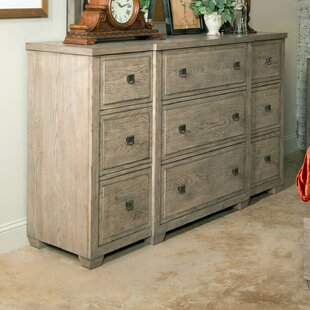 One Allium Way Amina 9 Drawer Dresser