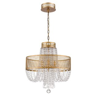 Rosdorf Park Maspeth 4-Light Empire Chandelier