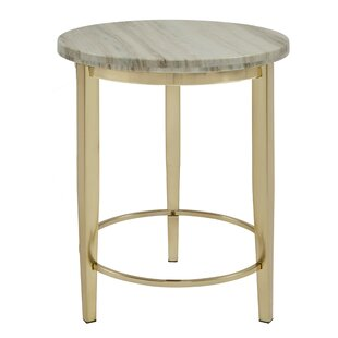 Sadler End Table by Everly Quinn