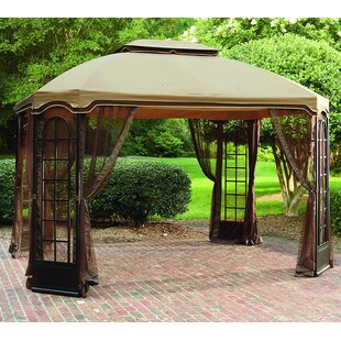 Replacement Canopy for 12' W x 10' D Terrace Gazebo by Sunjoy