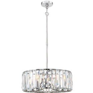 Coronette 6-Light Crystal Chandelier by Metropolitan by Minka