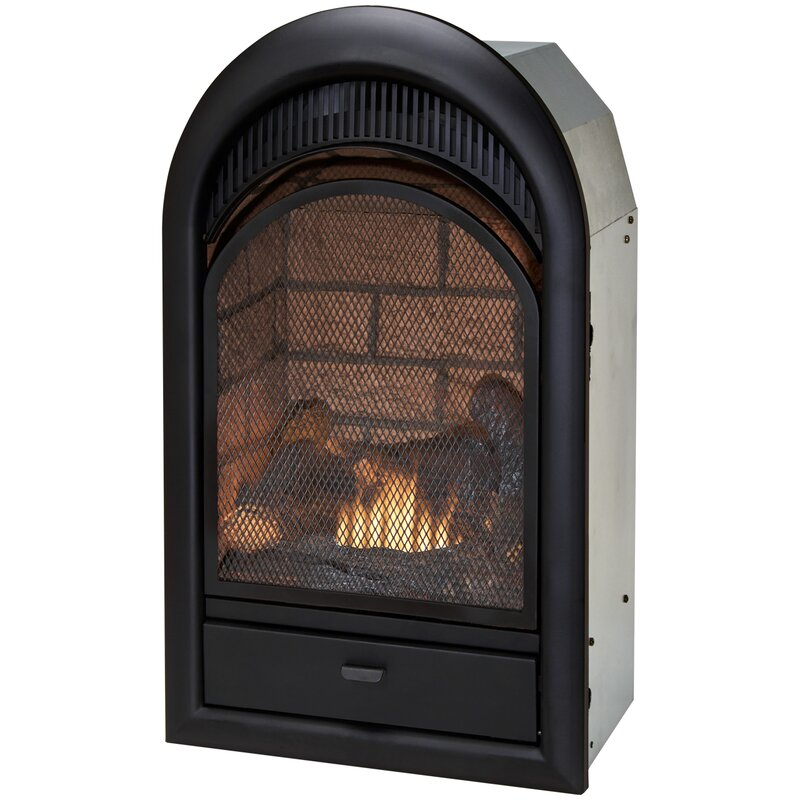 Duluth Forge Vent Free Natural Gas Propane Fireplace Insert