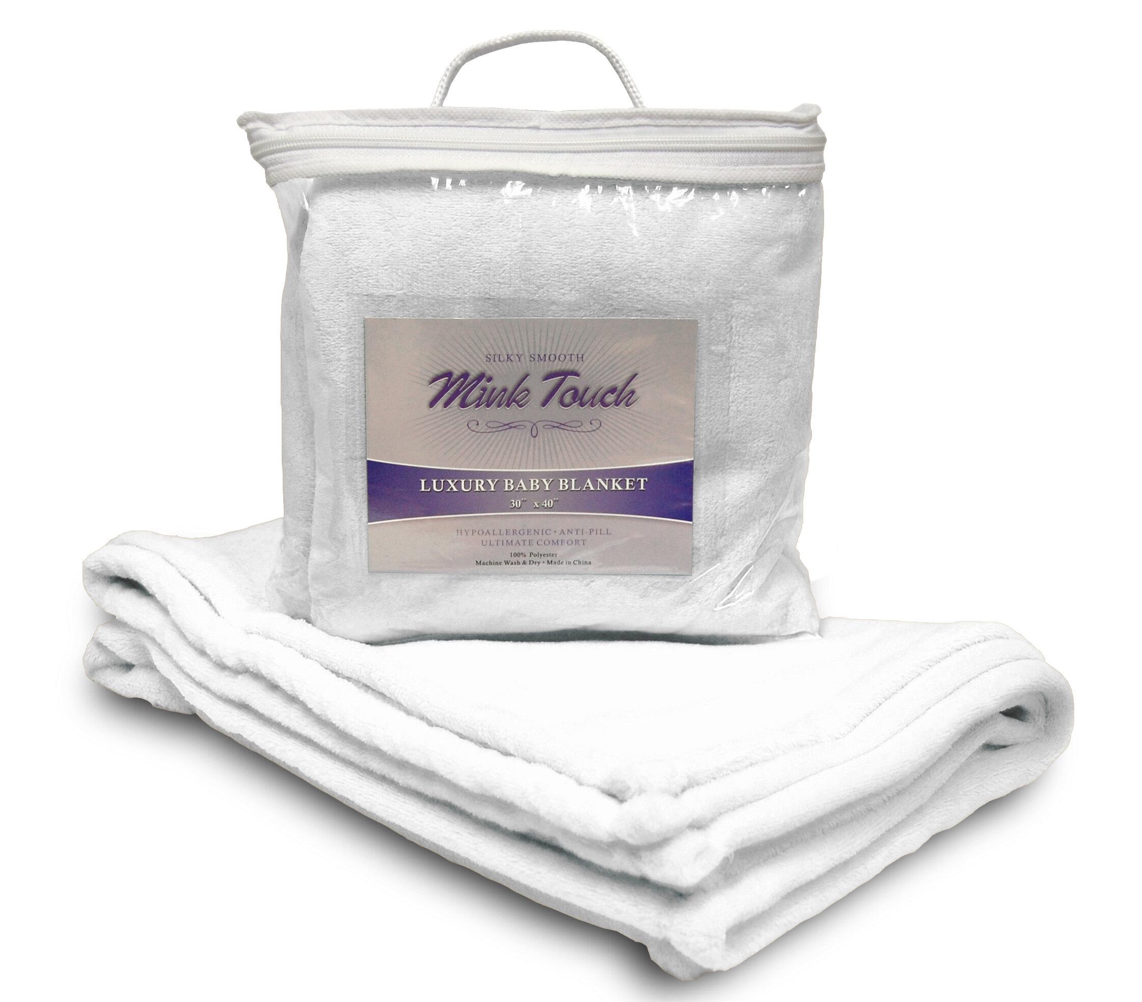 Fleecepro Mink Touch Baby Blanket Reviews Wayfair