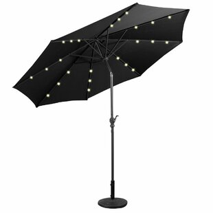 Dixon 3m Cantilever Parasol With Lights By Sol 72 Outdoor
