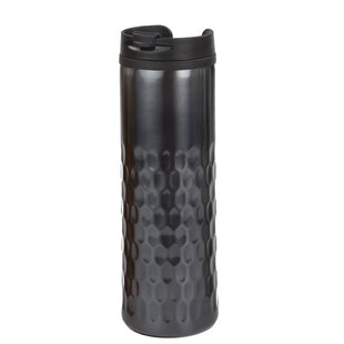 Stainless Steel Hammered Travel Mug (Set of 2)